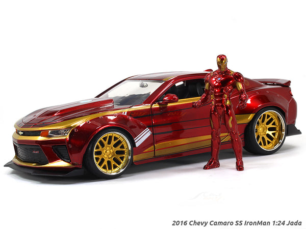 2016 Chevy Camaro SS IronMan 1:24 Jada scale model car