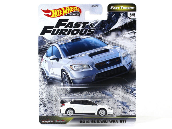 2016 Subaru WRX STI Fast & Furious 1:64 Hotwheels premium collectible