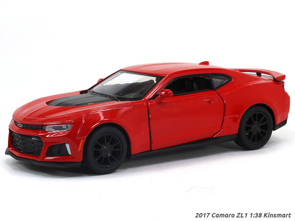 2017 Chevrolet Camaro ZL1red 1:38 Kinsmart diecast Scale Model Car