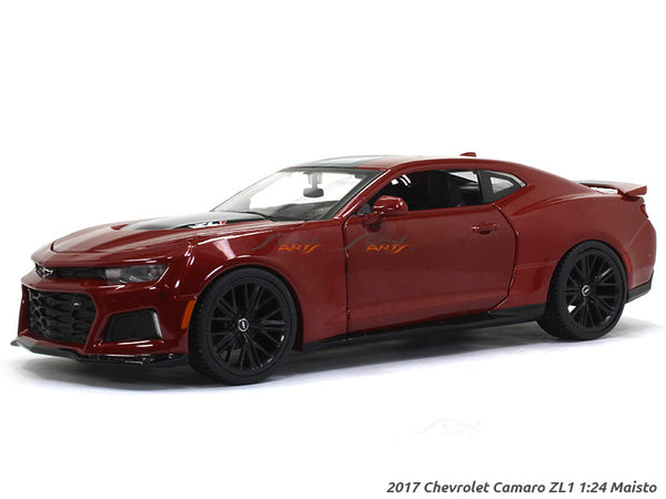 2017 Chevrolet Camaro ZL1 1:24 Maisto diecast Scale Model car