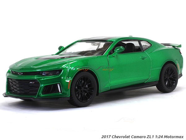 2017 Chevrolet Camaro ZL1 green 1:24 Motormax diecast scale model car
