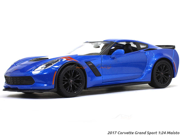 2017 Corvette Grand Sport 1:24 Maisto diecast Scale Model car
