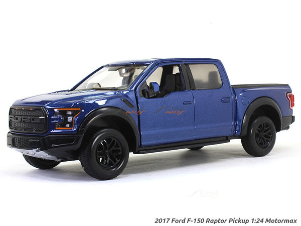 2017 Ford F-150 Raptor Pickup 1:24 Motormax diecast scale model car