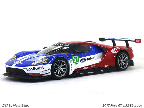 2017 Ford GT 67 1:32 Bburago diecast Scale Model Car