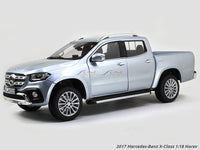 2017 Mercedes-Benz X-Class silver 1:18 Norev diecast scale model car