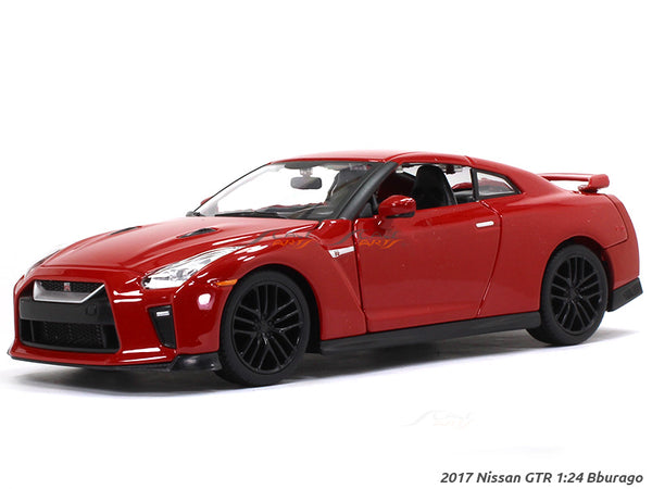 2017 Nissan GT-R 1:24 Bburago diecast Scale Model car