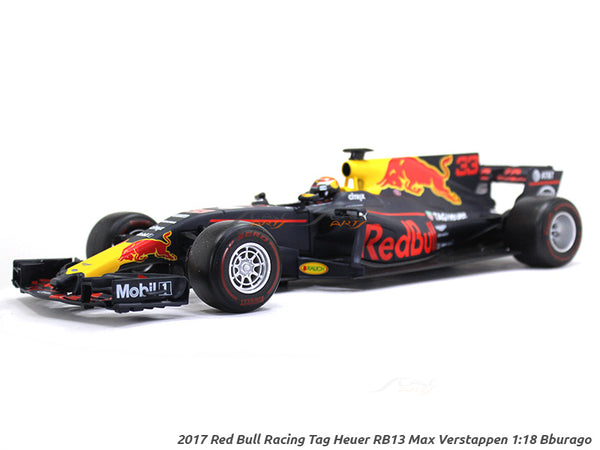 2017 Red Bull Racing Tag Heuer RB13 Max Verstappen 1:18 Bburago diecast Scale Model car