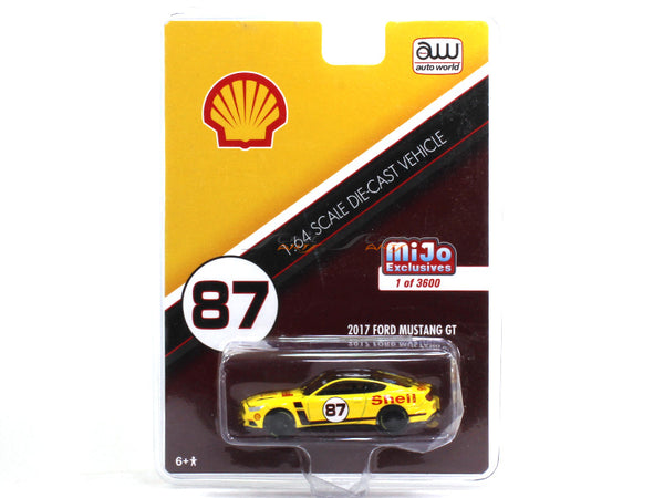 2017 Ford Mustang GT Shell 1:64 Auto World diecast Scale Model car