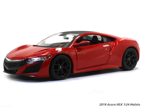 2018 Acura NSX red 1:24 Maisto diecast Scale Model car