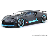 2018 Bugatti Divo 1:18 Bburago diecast scale model car
