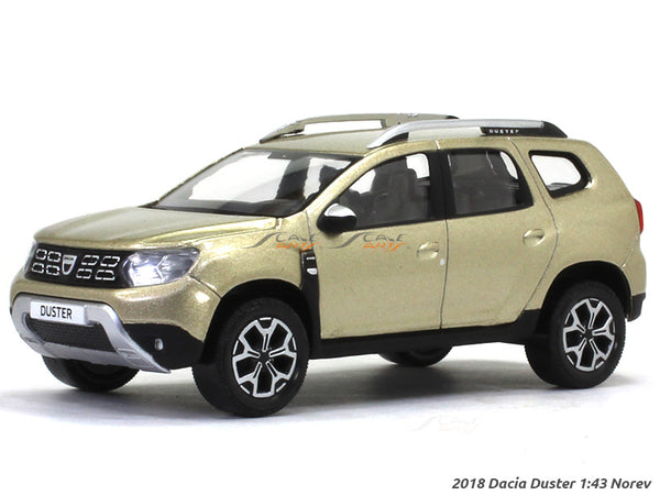 2018 Dacia Duster gold 1:43 Norev diecast scale model van