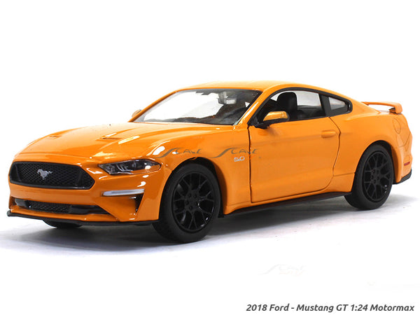 2018 Ford Mustang GT 1:24 Motormax diecast scale model car
