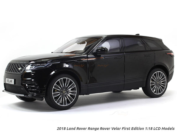 2018 Land Rover Range Rover Velar First Edition Black 1:18 LCD models diecast scale car