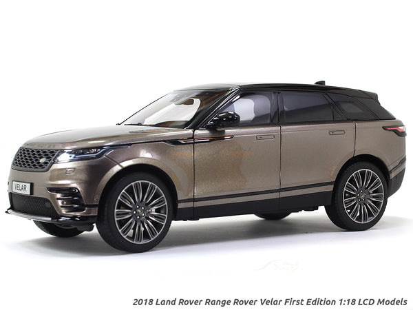 2018 Land Rover Range Rover Velar First Edition Brown 1:18 LCD models diecast scale car