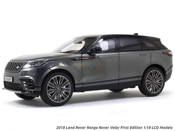 2018 Land Rover Range Rover Velar First Edition Grey 1:18 LCD models diecast scale car