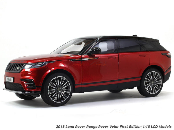 2018 Land Rover Range Rover Velar First Edition red 1:18 LCD models diecast scale car
