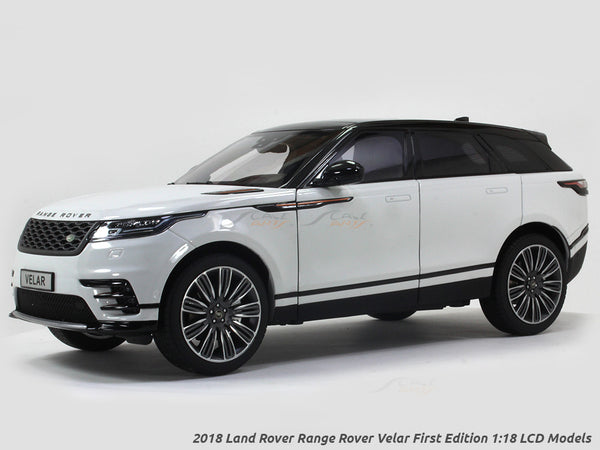 2018 Land Rover Range Rover Velar First Edition white 1:18 LCD models diecast scale car
