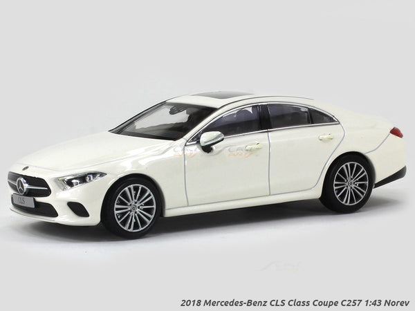 2018 Mercedes-Benz CLS Class Coupe C257 1:43 Norev diecast Scale Model car