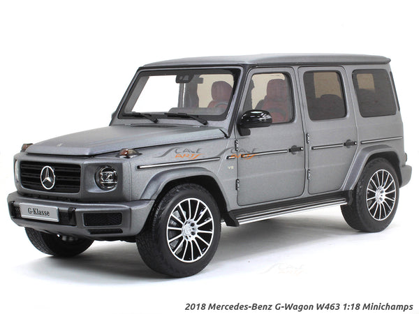 2018 Mercedes-Benz G-Wagon W463 1:18 Minichamps diecast scale model car