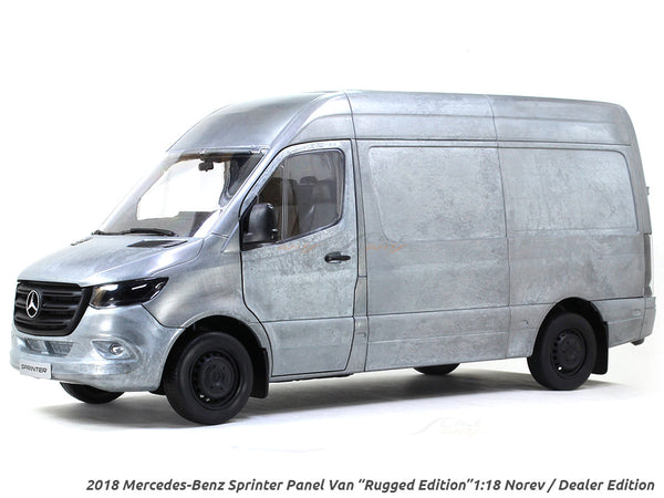 "2018 Mercedes-Benz Sprinter Panel Van ""Rugged Edition"" 1:18 Norev scale model"