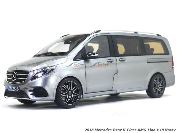 2018 Mercedes-Benz V Class AMG Line 1:18 Norev diecast scale model car
