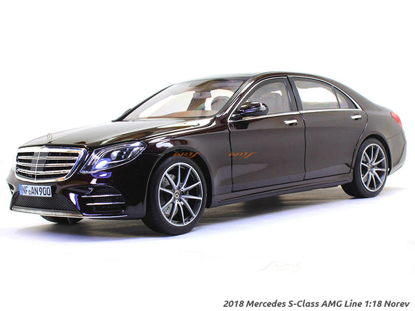 2018 Mercedes S-Class AMG Line 1:18 Norev diecast scale model car