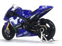 2018 Yamaha Factory Racing Team 1:18 Maisto diecast scale model bike