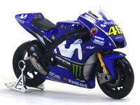 2018 Yamaha Factory Racing Team Valentino Rossi 1:18 Maisto diecast scale model bike