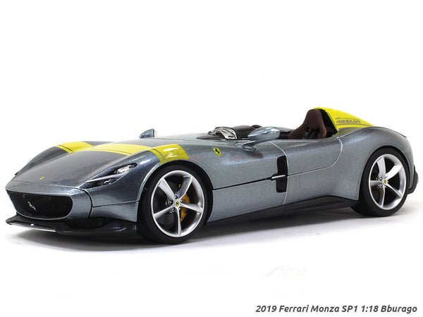 2019 Ferrari Monza SP1 1:18 Bburago diecast Scale Model car