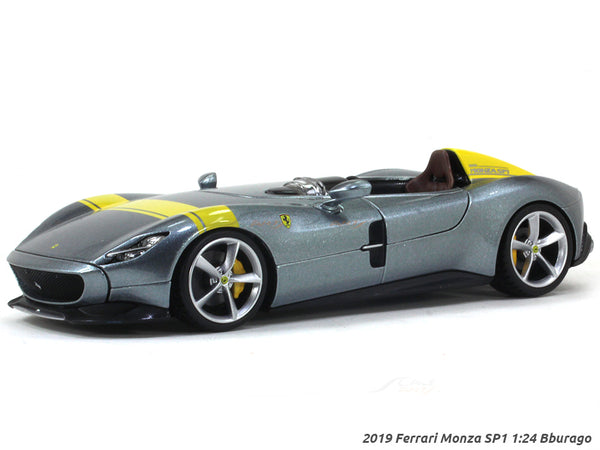 2019 Ferrari Monza SP1 1:24 Bburago diecast scale model car