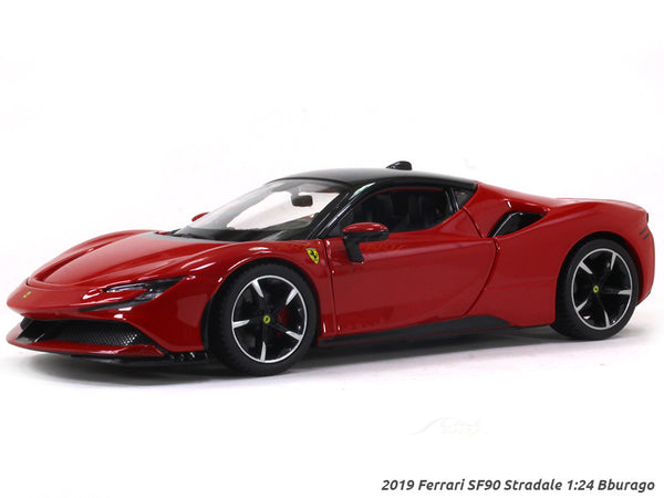 2019 Ferrari SF90 Stradale 1:24 Bburago diecast scale model car