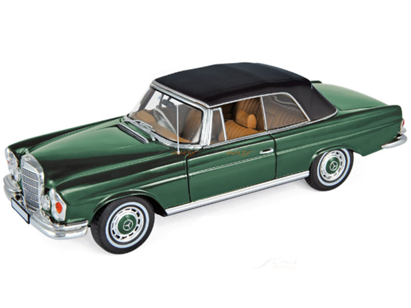 Prebook : Mercedes-Benz 280 SE Cabriolet green 1:18 Norev diecast Scale Model Car
