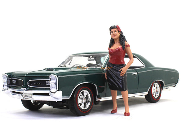 70's Girl 1:18 American Diorama scale model