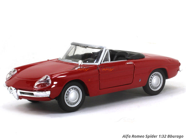 Alfa Romeo Spider 1:32 Bburago diecast Scale Model Car
