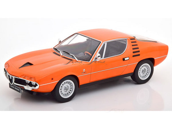 Prebook : 1970 Alfa-Romeo Montreal orange 1:18 KK Scale diecast Scale Model Car