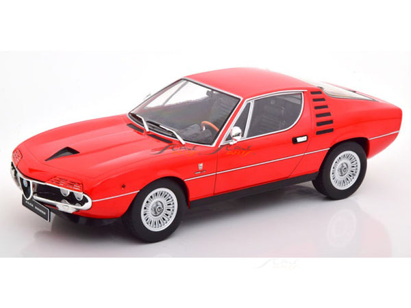 Prebook : 1970 Alfa-Romeo Montreal red 1:18 KK Scale diecast Scale Model Car
