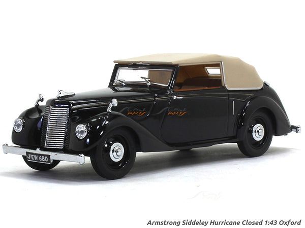 Armstrong Siddeley Hurricane Closed 1:43 Oxford diecast Scale Model Car