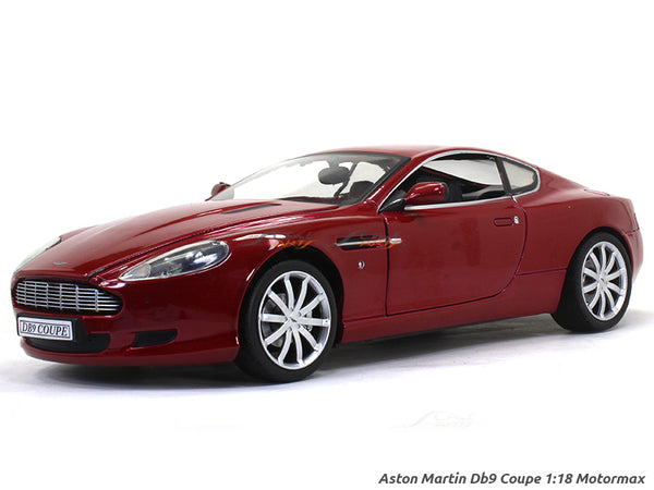 Aston Martin Db9 Coupe 1:18 Motormax diecast scale model car