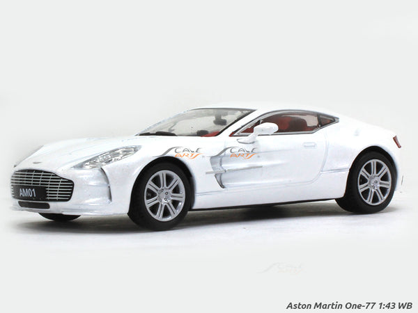 2010 Aston Martin One77 1:43 Whitebox diecast Scale Model Car