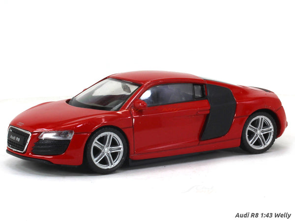Audi R8 1:43 Welly diecast Scale Model Car
