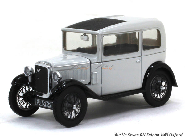 Austin Seven RN Saloon 1:43 Oxford diecast Scale Model Car