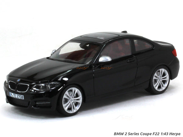 BMW 2 Series Coupe F22 1:43 Herpa diecast Scale Model Car