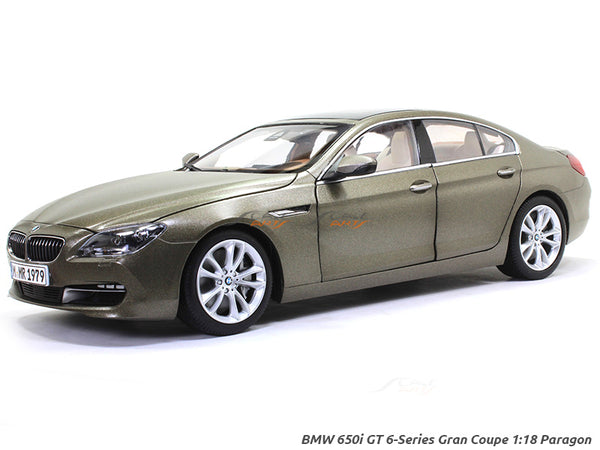 BMW 650i GT 6 Series Gran Coupe 1:18 Paragon diecast Scale Model Car