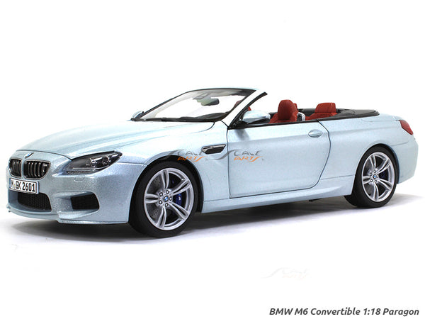 BMW M6 Convertible 1:18 Paragon diecast Scale Model Car