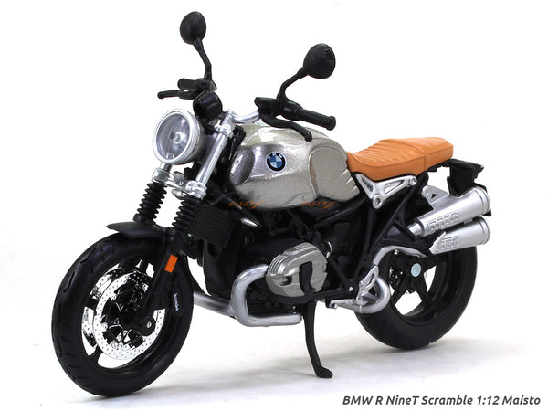 BMW R NineT Scramble 1:12 Maisto diecast Scale Model bike