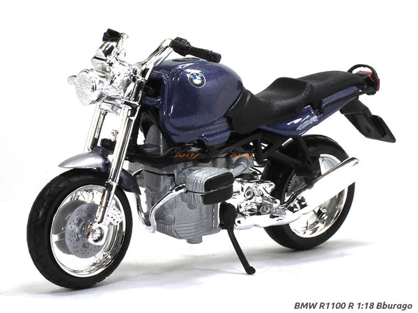BMW R1100 R 1:18 Bburago diecast scale model bike
