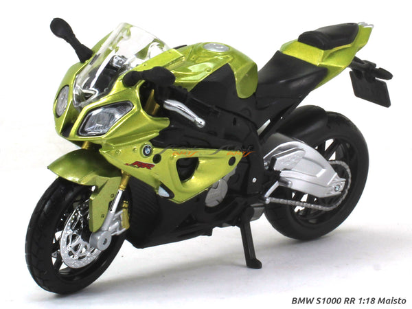 BMW S1000 RR 1:18 Maisto diecast scale model bike