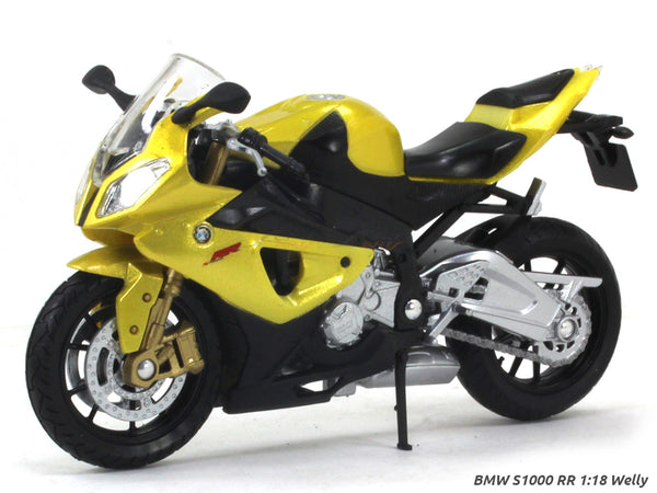 BMW S1000 RR 1:18 Welly diecast Scale Model Bike