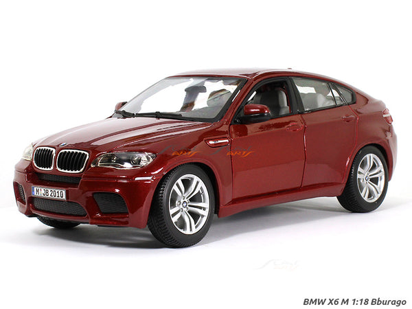 BMW X6 M 1:18 Bburago diecast Scale Model car