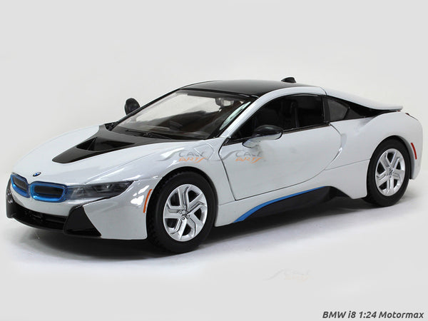 BMW i8 1:24 Motormax diecast scale model car